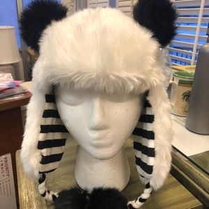 Justice Panda winter hat